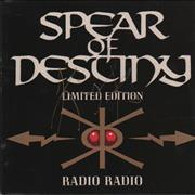 Click here for more info about 'Spear Of Destiny - Radio Radio - Autographed'
