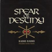 Click here for more info about 'Spear Of Destiny - Radio Radio'