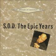 Spear Of Destiny S.O.D. - The Epic Years UK vinyl LP