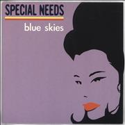 Click here for more info about 'Special Needs - Blue Skies - Lilac Sleeve'