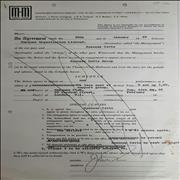 Click here for more info about 'Marquee-Martin Agency contract - January 1969'