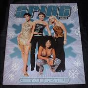 Spice Girls Christmas In Spiceworld + Ticket stub UK tour programme