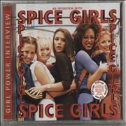 Spice Girls Girl Power Interview UK CD album