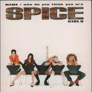 Spice Girls Mama / Who Do You Think You Are UK CD single