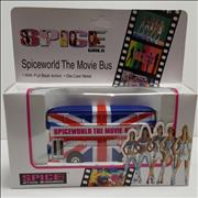 Spice Girls Spice Girls Die-Cast Metal Tour Bus UK memorabilia