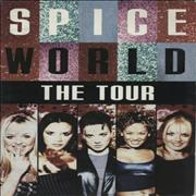 Spice Girls Spice World The Tour UK tour programme