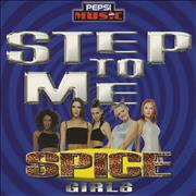 Click here for more info about 'Spice Girls - Step To Me - Pepsi CD - Wallet'