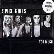 Click here for more info about 'Spice Girls - Too Much + Postcard'