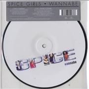 "Spice Girls Wannabe UK 7"" picture disc"