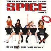 Click here for more info about 'Spice Girls - Who Do You Think You Are/Mama'