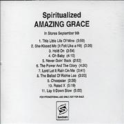 Click here for more info about 'Spiritualized - Amazing Grace'