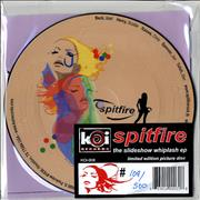 Click here for more info about 'Spitfire (US) - The Slideshow Whiplash EP - Limited Edition Picture Disc'