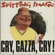 Click here for more info about 'Spitting Image - Cry, Gazza, Cry !'