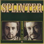 Click here for more info about 'Splinter - Harder To Live - US sleeve'