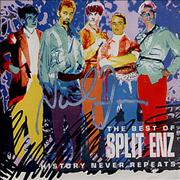 Click here for more info about 'Split Enz - History Never Repeats - The Best Of - AUTOGRAPHED'