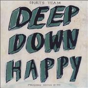 Click here for more info about 'Sports Team - Deep Down Happy -Green Vinyl First Pressing + Signed CD + Cassette'