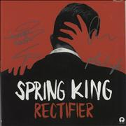 Click here for more info about 'Spring King - Rectifier - Red Vinyl + Autographed Sleeve'