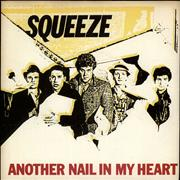 Click here for more info about 'Squeeze - Another Nail In My Heart - P/S - Clear'