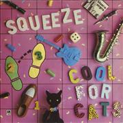 Click here for more info about 'Squeeze - Cool For Cats - Grey/Pink Label'