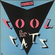 Click here for more info about 'Squeeze - Cool For Cats - Blue Sleeve'