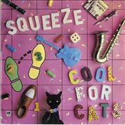Click here for more info about 'Squeeze - Cool For Cats - P/S - Salmon'