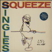 Click here for more info about 'Squeeze - Singles - 45's And Under - Sticker + Insert'