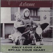 Click here for more info about 'St Etienne - Only Love Can Break Your Heart - sealed'