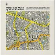 Click here for more info about 'St Etienne - Words And Music by Saint Etienne - Sealed'