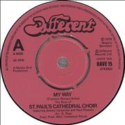 Click here for more info about 'St. Paul's Cathedral Choir - My Way'