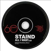 Click here for more info about 'Staind - All I Want'