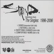 Click here for more info about 'Staind - Selections from The Singles 1996-2006'