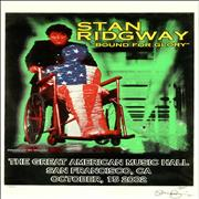 Click here for more info about 'Stan Ridgway - Bound For Glory - Autographed'