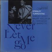 Click here for more info about 'Stanley Turrentine - Never Let Me Go - 1st - NY'