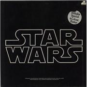 Star Wars Star Wars - Stickered Sleeve UK 2-LP vinyl set
