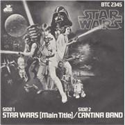 "Star Wars Star Wars (Main Title) UK 7"" vinyl"