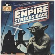 "Star Wars The Empire Strikes Back USA 7"" vinyl"