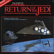 Star Wars The Story Of Return Of The Jedi USA vinyl LP