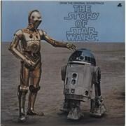Star Wars The Story Of Star Wars - EX UK vinyl LP
