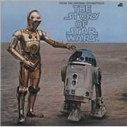 Star Wars The Story Of Star Wars UK vinyl LP