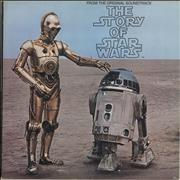 Star Wars The Story Of Star Wars USA vinyl LP