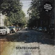 Click here for more info about 'State Champs - The Finer Things - Pink/White vinyl'