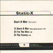 Click here for more info about 'Static-X - Start A War'