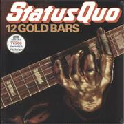 Click here for more info about 'Status Quo - 12 Gold Bars - 180gm Gold Vinyl - Sealed'