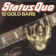 Click here for more info about 'Status Quo - 12 Gold Bars - French'