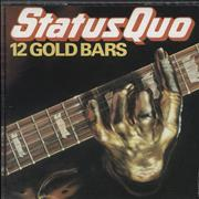 Click here for more info about 'Status Quo - 12 Gold Bars - German'