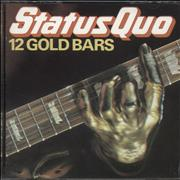 Click here for more info about 'Status Quo - 12 Gold Bars - UK'