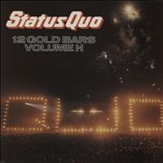 Click here for more info about 'Status Quo - 12 Gold Bars Volume 1+1 - Promo Stamped'