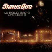 Status Quo 12 Gold Bars Volume 1+1 UK 2-LP vinyl set