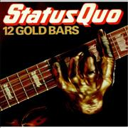 Click here for more info about 'Status Quo - 12 Gold Bars - EX'