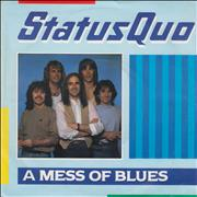 Click here for more info about 'Status Quo - A Mess Of Blues - Withdrawn p/s'